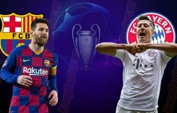 Link xem trực tiếp Barcelona vs Bayern Munich (Cup C1 Châu Âu), 2h ngày 15/8