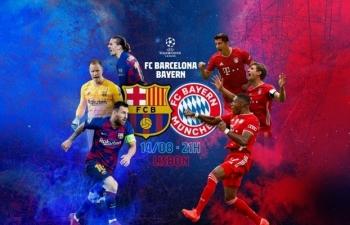 Xem trực tiếp Barcelona vs Bayern Munich ở đâu?