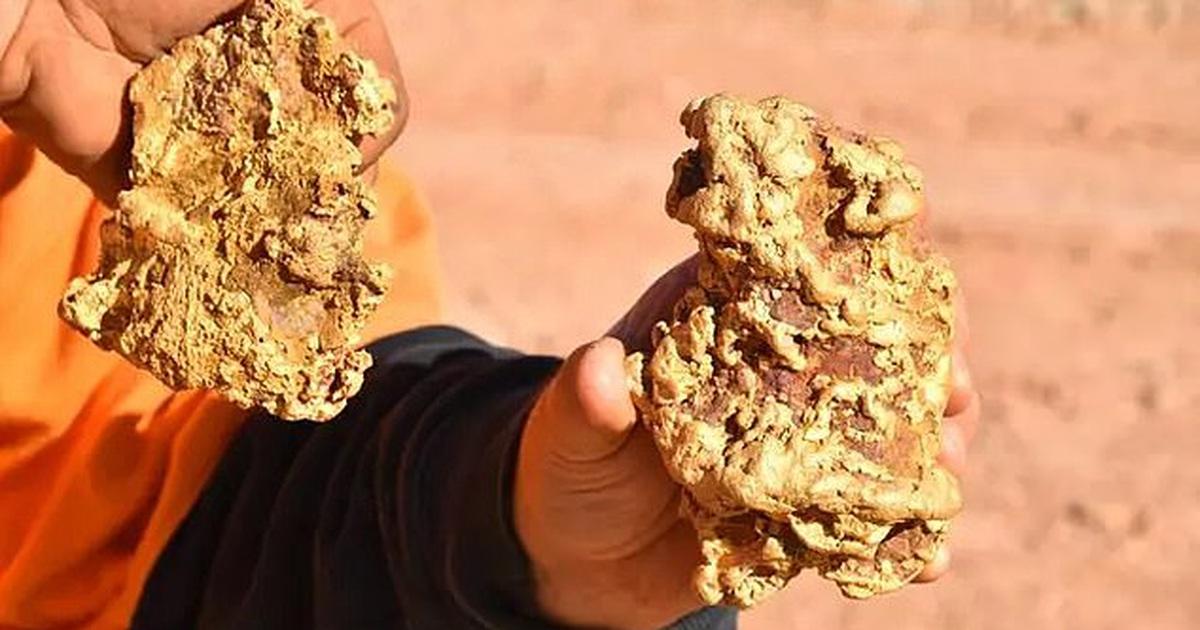 """Hai anh em chuyên tìm kho báu đào được 2 cục vàng """"khủng"""" trị giá 8 tỷ đồng"""