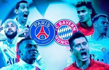 Link xem trực tiếp PSG vs Bayern (Cup C1 Châu Âu), 2h ngày 24/8
