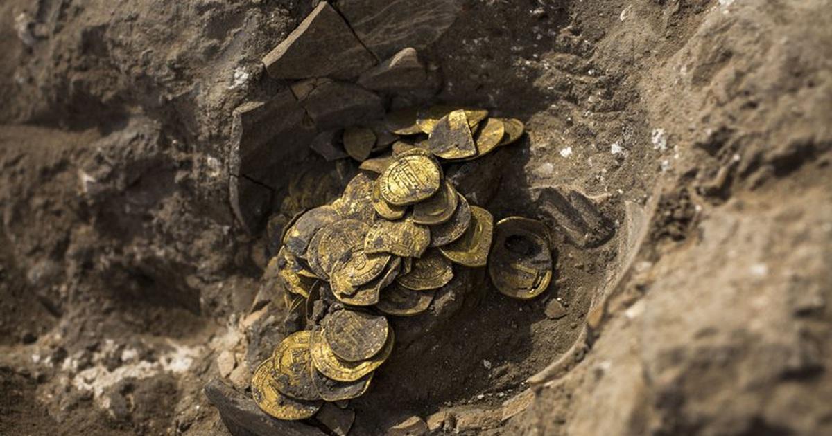Israel phát hiện kho tiền vàng cổ niên đại nghìn năm cực hiếm