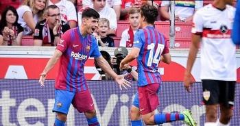 Depay và Griezmann tỏa sáng giúp Barcelona thắng đậm