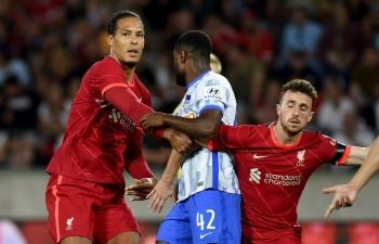 Link xem trực tiếp Liverpool vs Bologna (Giao hữu), 21h ngày 5/8