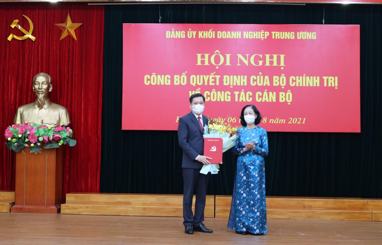 Đồng chí Nguyễn Long Hải giữ chức Bí thư Đảng uỷ Khối Doanh nghiệp Trung ương