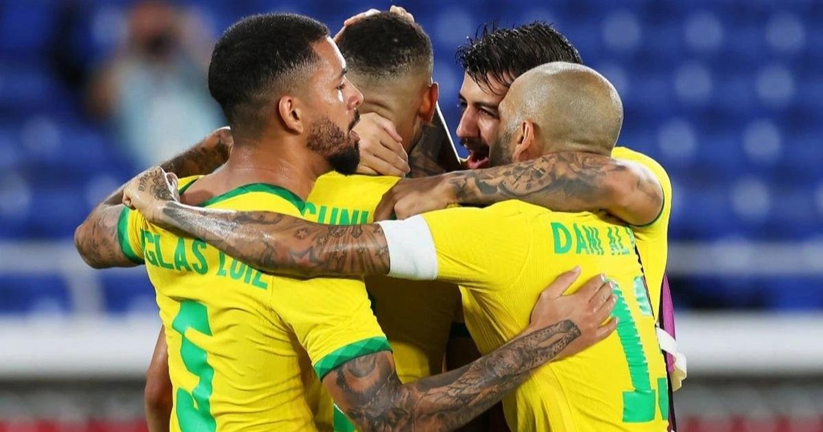 Đánh bại Tây Ban Nha, Brazil giành HCV bóng đá nam Olympic 2020