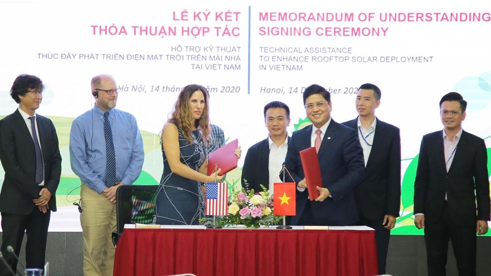 Quan hệ hợp tác Việt Nam - Hoa Kỳ trong lĩnh vực điện năng
