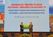 Vietcombank cam kết dành 15 ngàn tỉ đồng cho hoạt động đầu tư ở Hải Phòng