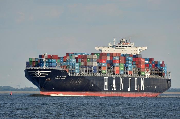hanjin va bai hoc logistics