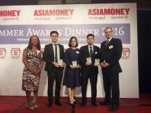 BIDV nhận 4 giải thưởng về kinh doanh tiền tệ