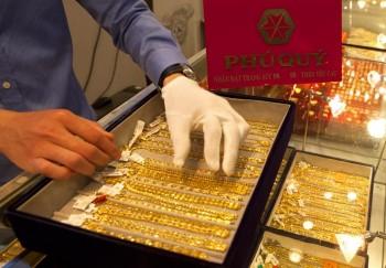 Giảm 110.000 đồng, vàng SJC trượt về mức 36 triệu đồng/lượng