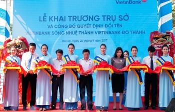 vietinbank song nhue doi ten thanh vietinbank do thanh