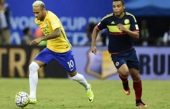Link xem trực tiếp bóng đá Brazil vs Colombia (Giao hữu), 7h30 ngày 7/9