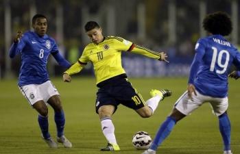 Xem trực tiếp bóng đá Brazil vs Colombia (Giao hữu), 7h30 ngày 7/9