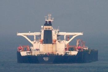 """""""Siêu tàu dầu"""" Iran có thể sắp cập cảng Syria"""