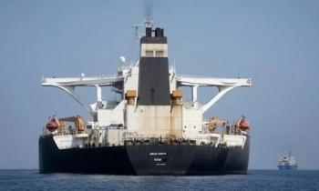 """""""Siêu tàu dầu"""" Iran đã dỡ hàng"""