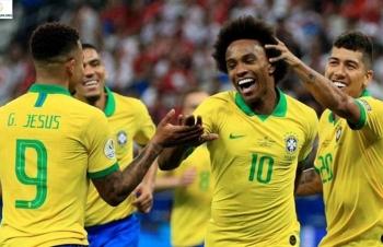 Xem trực tiếp bóng đá Brazil vs Peru (Giao hữu), 9h30 ngày 11/9