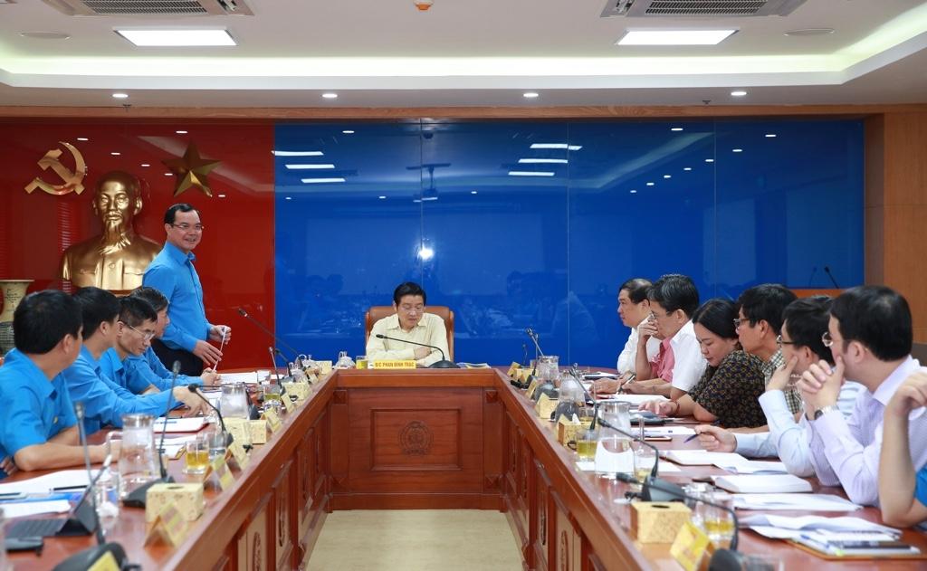 Công bố kết quả kiểm tra của Ban Bí thư đối với Đảng đoàn Tổng LĐLĐ Việt Nam