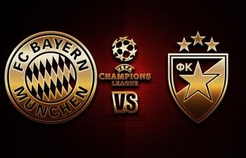 Xem trực tiếp Bayern vs Crvena Zvezda ở đâu?
