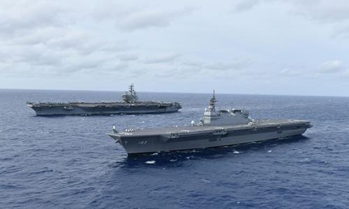 Mỹ điều tàu sân bay tới Biển Đông