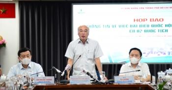 TPHCM họp báo việc đại biểu Phạm Phú Quốc có 2 quốc tịch