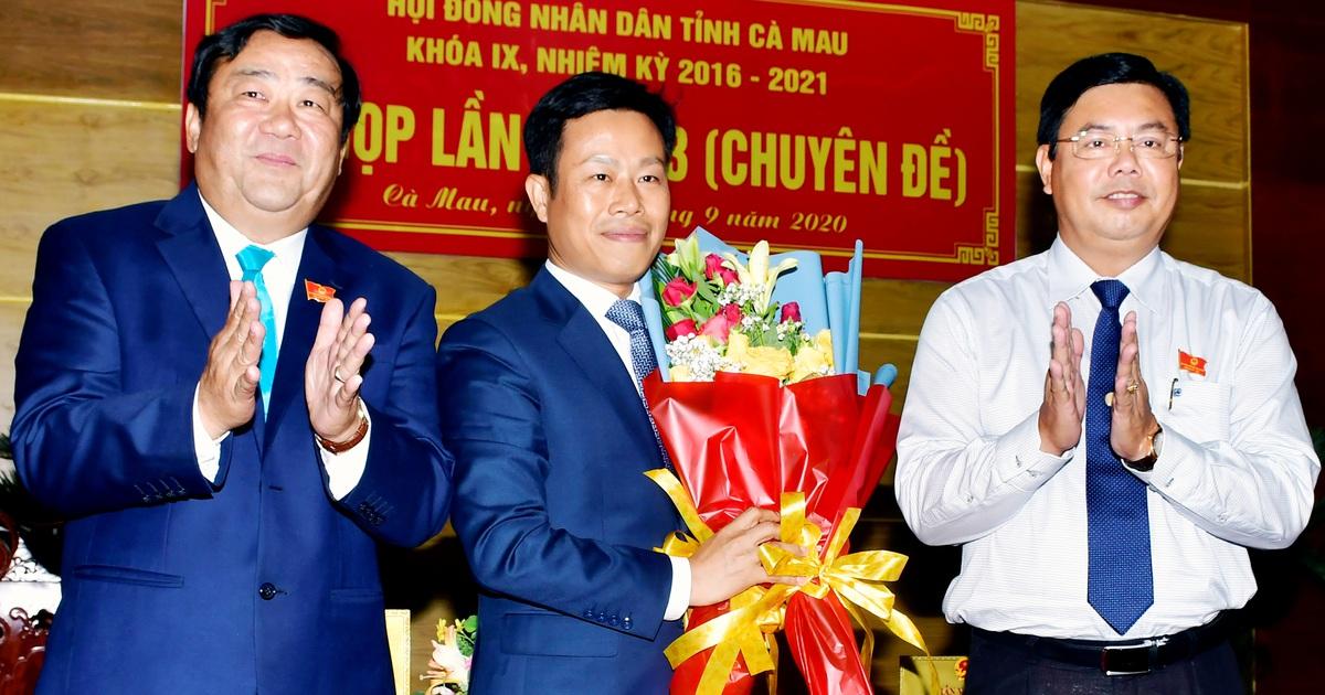 Cà Mau có tân Chủ tịch tỉnh 46 tuổi