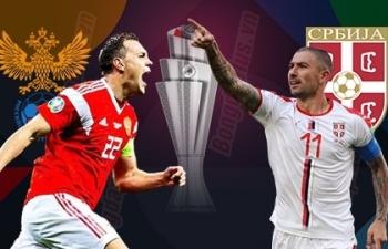 Link xem trực tiếp Nga vs Serbia (UEFA Nations League), 1h45 ngày 4/9