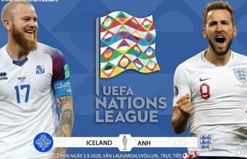 Xem trực tiếp Iceland vs Anh ở đâu?