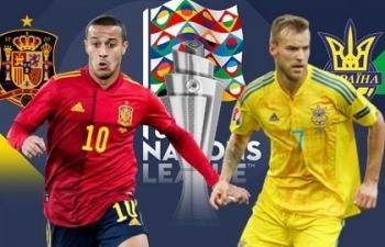 Xem trực tiếp Tây Ban Nha vs Ukraine ở đâu?