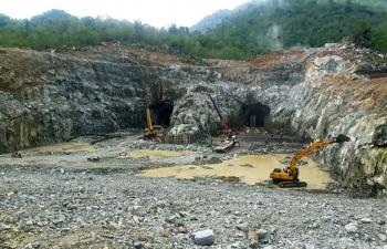 Dự án Thủy điện tích năng Bác Ái đang bám sát tiến độ