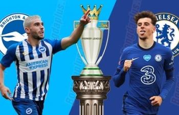 Xem trực tiếp Brighton vs Chelsea ở đâu?
