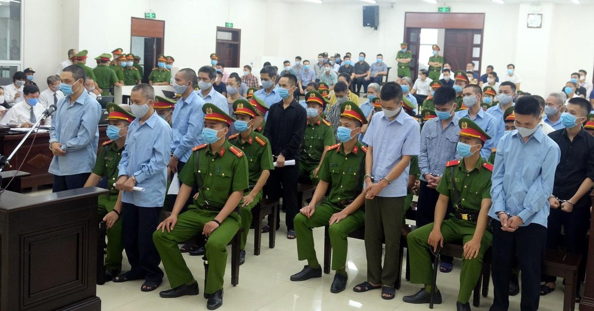 Tòa tuyên tử hình 2 bị cáo trong vụ án ở Đồng Tâm