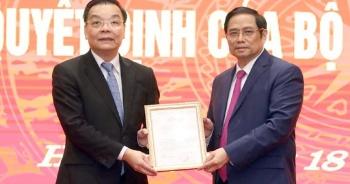 Bộ trưởng Khoa học Công nghệ Chu Ngọc Anh làm Phó Bí thư Thành ủy Hà Nội