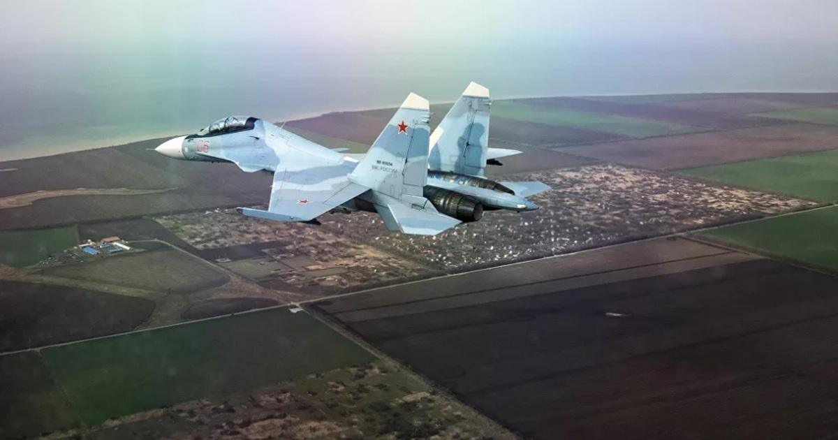 Máy bay Su-30 của Nga đâm xuống rừng