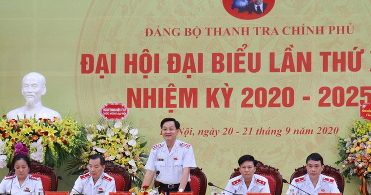 Ông Lê Minh Khái được bầu làm Bí thư Đảng uỷ Thanh tra Chính phủ