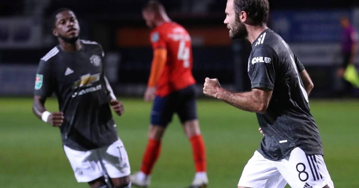 Man Utd thắng đậm ở trận ra quân tại Carabao Cup