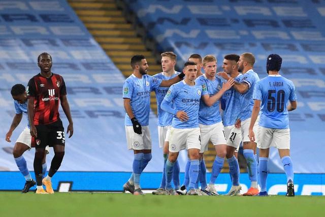 Man City thắng nhẹ trận ra quân tại Carabao Cup - 1