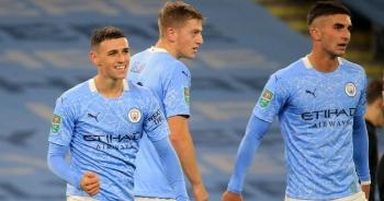 Man City thắng nhẹ trận ra quân tại Carabao Cup