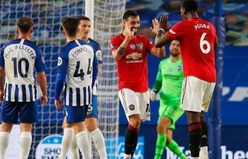 Link xem trực tiếp Brighton vs Man Utd (Ngoại hạng Anh), 18h30 ngày 26/9