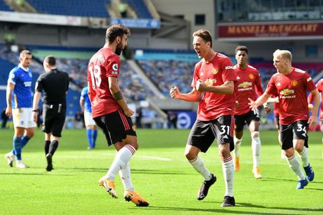 Brighton 2-3 Man Utd: Chiến thắng kịch tính - 2