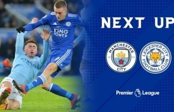 Vòng 3 Ngoại hạng Anh 2020-2021: Xem trực tiếp Man City vs Leicester ở đâu?