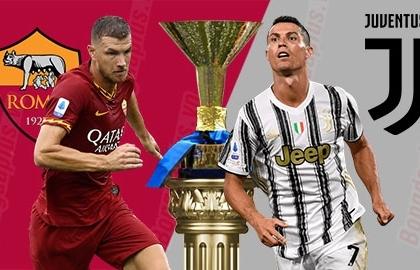 Xem trực tiếp bóng đá AS Roma vs Juventus ở đâu?