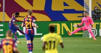 Messi lập công, Barcelona thắng đậm Villarreal