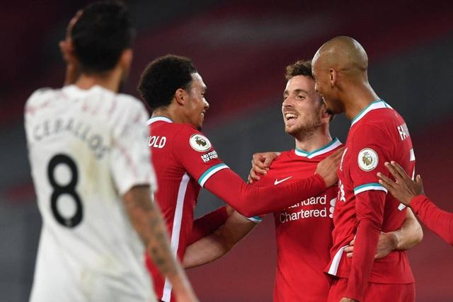 Liverpool 3-1 Arsenal: Bản lĩnh của nhà vô địch - 1