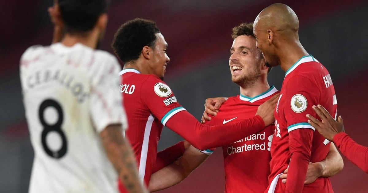 Liverpool 3-1 Arsenal: Bản lĩnh của nhà vô địch