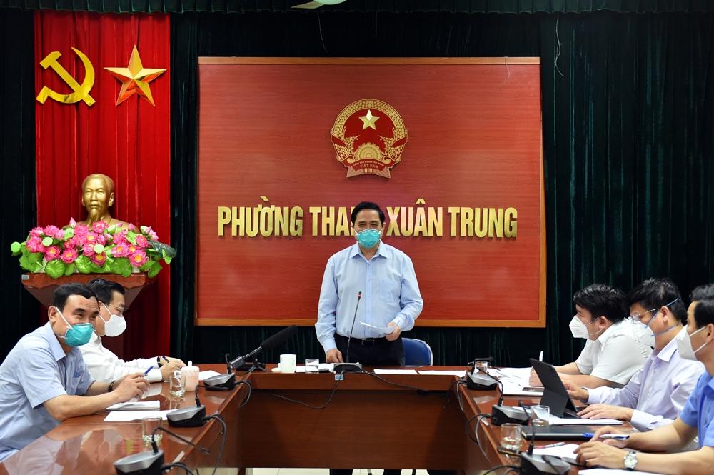 Thủ tướng nêu 9 nhiệm vụ Hà Nội cần tập trung thực hiện trong phòng, chống dịch