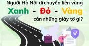 Người Hà Nội muốn qua lại giữa các vùng