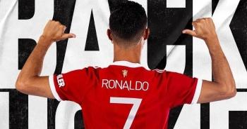 Khoe mặc áo số 7 của Man Utd, C.Ronaldo tạo cơn sốt lớn