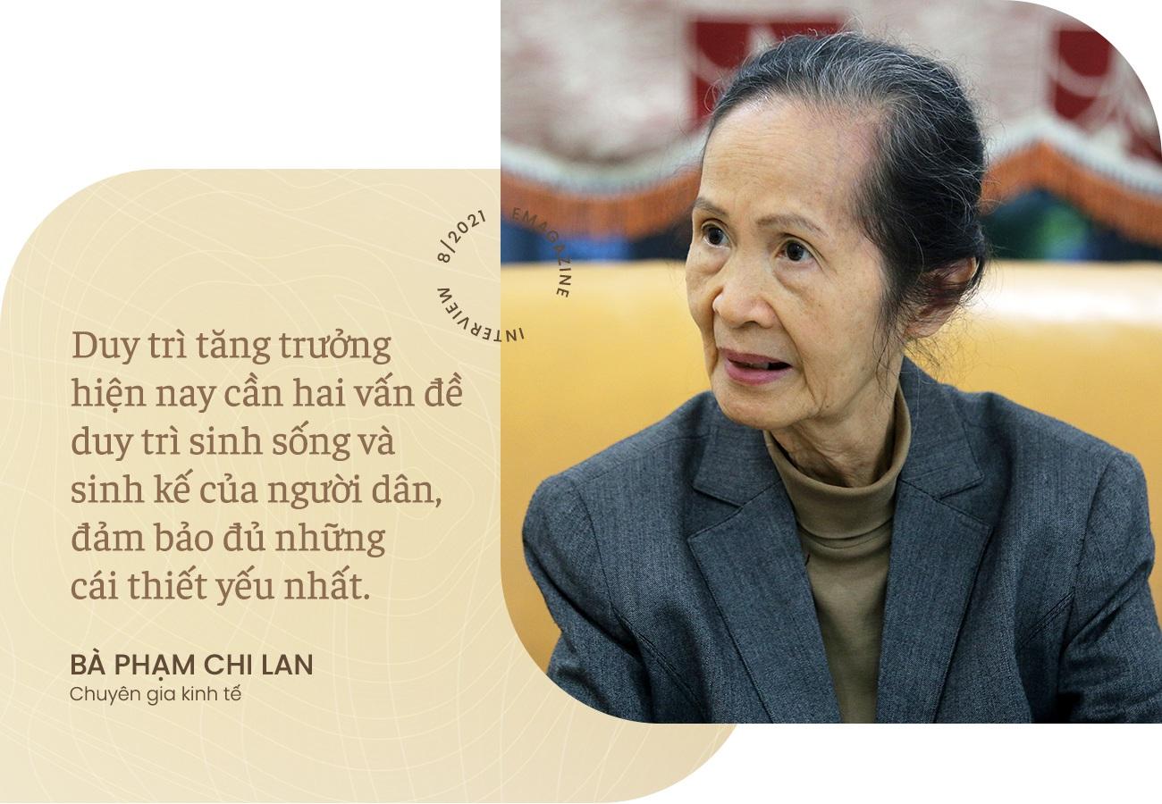 Bà Phạm Chi Lan: Không thể vin cớ Covid-19 mà đình hoãn cải cách kinh tế - 2