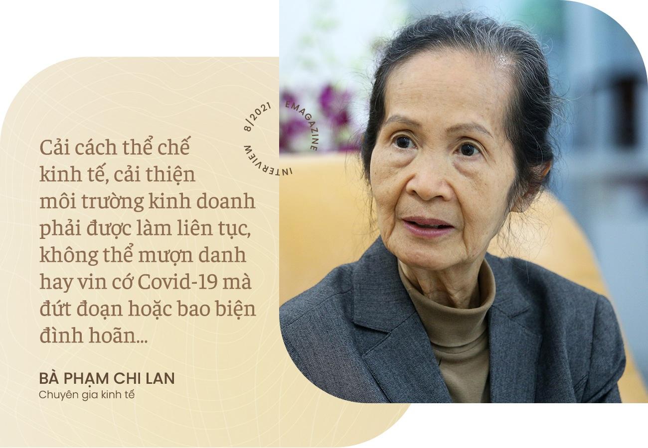 Bà Phạm Chi Lan: Không thể vin cớ Covid-19 mà đình hoãn cải cách kinh tế - 8