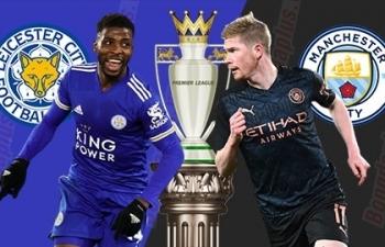 Link xem trực tiếp Leicester vs Man City (Ngoại hạng Anh), 21h ngày 11/9